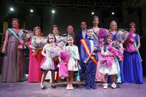 Javier A. García pregona las fiestas de San Isidro Labrador de El Parador de las Hortichuelas