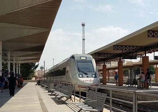 Nueva avería en el tren Almería-Granada