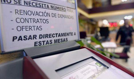 El paro baja en 4.462 personas en octubre en Almería