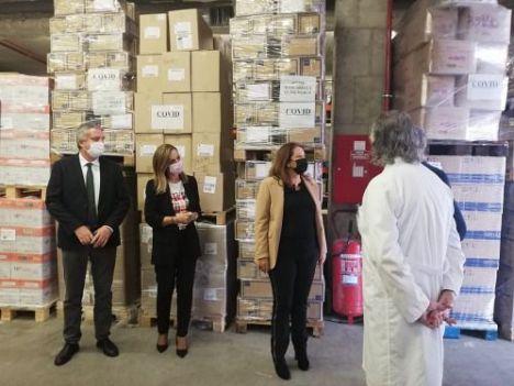 Torrecárdenas adquirió materiales para transportar muestras de #COVID19 por valor de 368.929,26 euros