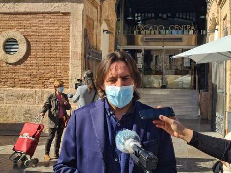 Rafael Burgos dice que Ciudadanos apuesta por la formación para 900 desempleados almerienses