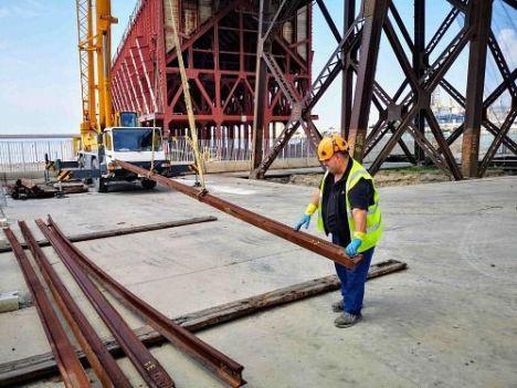 A punto de comenzar las obras en la plataforma superior del Cable Inglés