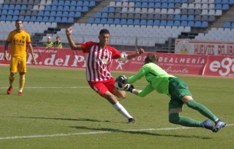2-0: El Almería B cierra el 2020 con una victoria sobre el Huétor Vega