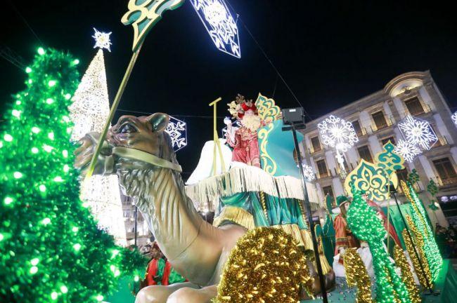 Los Reyes Magos repartírán 13 toneladas de caramelos