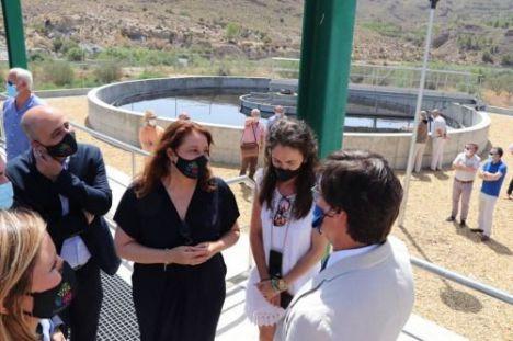 La Junta tiene en marcha todas las actuaciones de saneamiento y depuración previstas en Almería