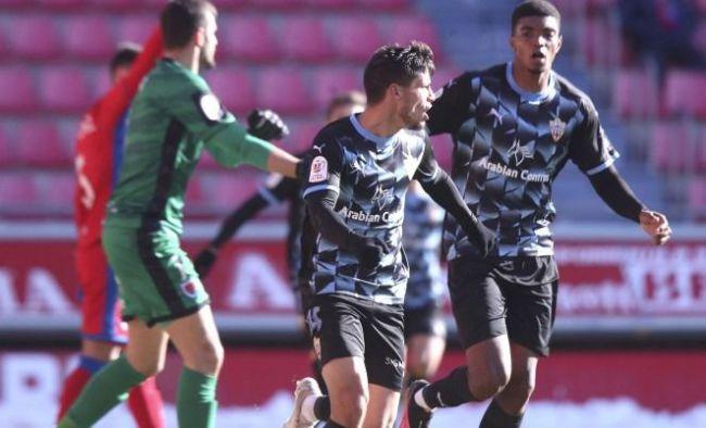 El Almería prepara el último partido de la primera vuelta