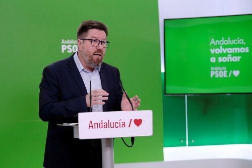 El PSOE pide pleno extraordinario en Andalucía por el #COVID19 mientras el Congreso sigue cerrado