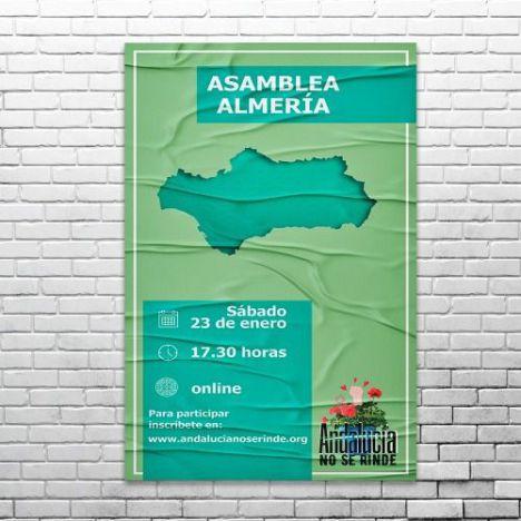 'Andalucía no se rinde' inicia en Almería su ronda de asambleas