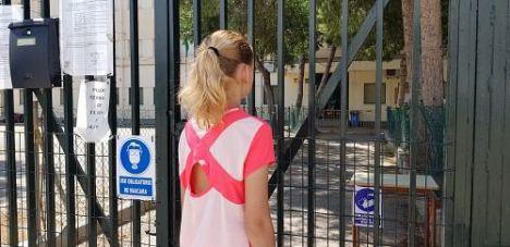 64 aulas de Almería están cerradas por covid-19
