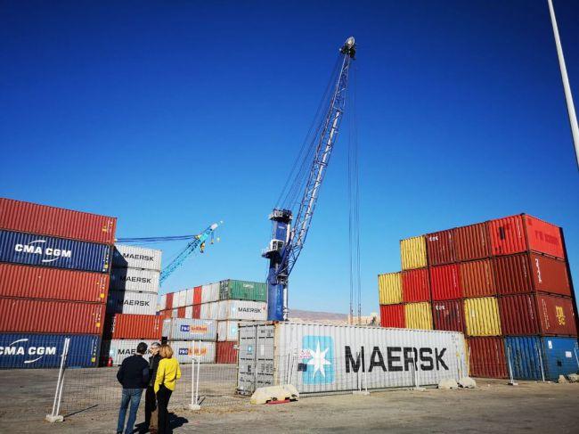 El Puerto de Almería movió en 2020 un 8,2% más de toneladas de mercancía en contenedor