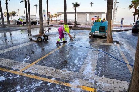Diecisiete calles reciben este domingo el operativo de limpieza intensiva