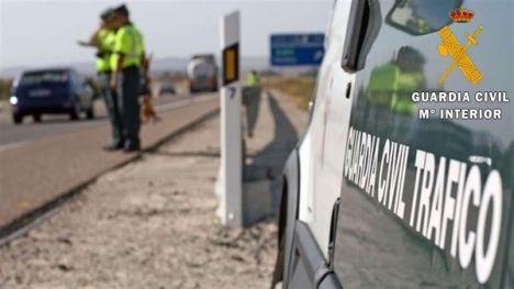 Detenido por cuatro robos y un hurto en el interior de vehículos en Níjar