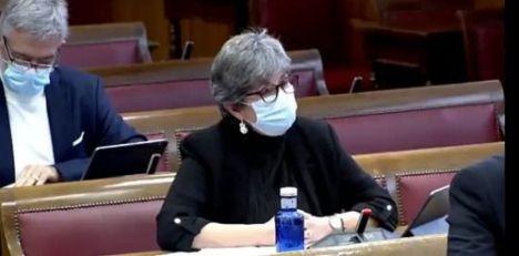 La senadora andalucista reclama una estrategia de movilidad para Almería