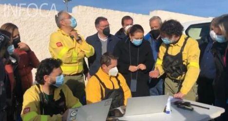 La Junta inicia actuaciones de respuesta a los incendios de Almería