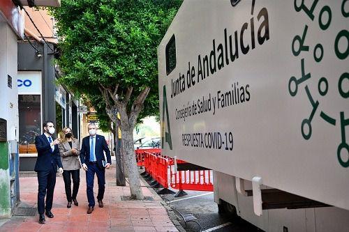 Salud cita esta semana a 1.945 personas para los cribados poblacionales en Almería