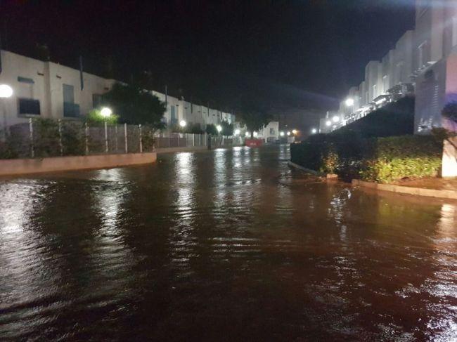 Almería estará este martes en aviso amarillo por lluvias