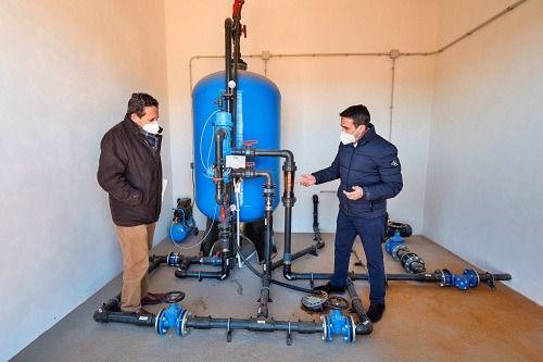 Diputación impulsa la eficiencia en las redes de agua de Olula del Río