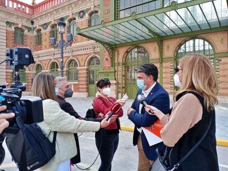 Aprobada la moción de Ciudadanos para que los almerienses marquen el futuro de la antigua estación