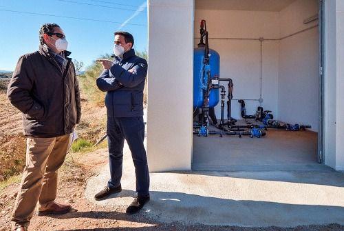 Diputación dota a los vecinos de la barriada de 'Los Garcías' de saneamiento