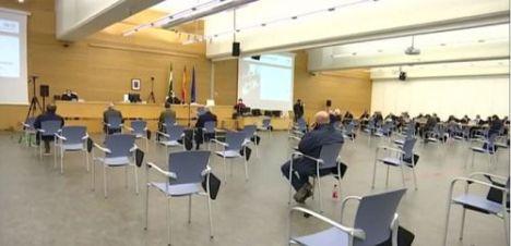 El exconcejal José Andrés Cano afirma ante el tribunal que las obras en la sede del PAL las hizo Elsur