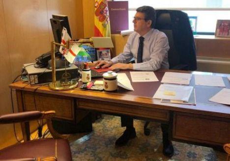 Matarí destaca lo buenos pagadores que son los ayuntamientos de Almería, Roquetas y El Ejido