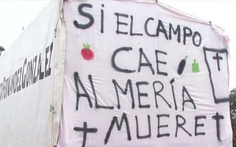 Las organizaciones agrarias convocan una caravana de tractores en Los Vélez