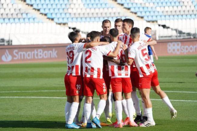 El Almería reanuda los entrenamientos este martes