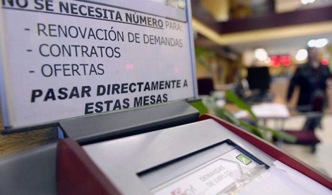 Almería cierra mayo con un descenso del 59% de personas en ERTE