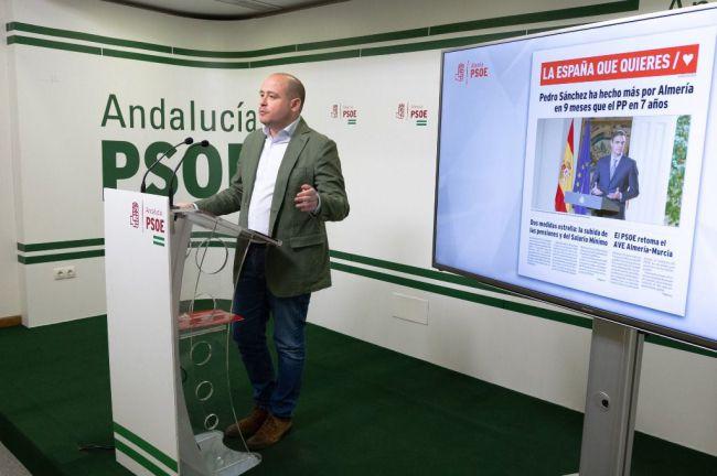 El PSOE destaca que Almería recibe más de 2 millones de euros del Gobierno de España para transporte público