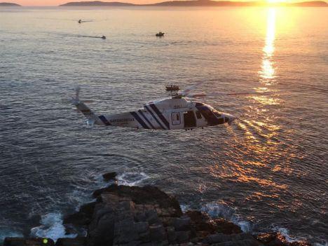 Localizado el cuerpo sin vida del hombre que cayó de un kayak en la costa de Níjar