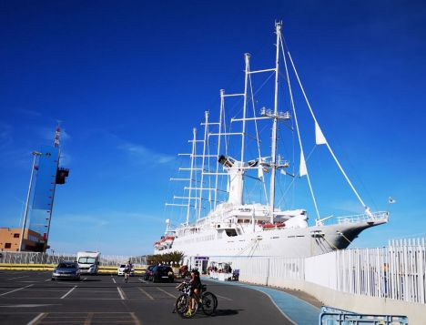 El Puerto de Almería recibirá en agosto el primer crucero desde febrero de 2020