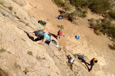 Huercal de Almería lleva a sus vecinos a la multiaventura