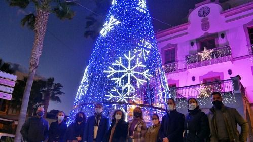 A licitación la iluminación de Feria y Navidad de Adra para 2021