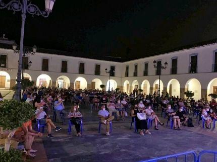 La Banda de Música de Berja ofrece un concierto en la Plaza Porticada