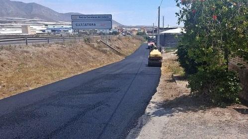 Contratación de la mejora del transitado camino rural de La Galiana