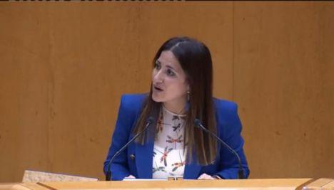 """Inés Plaza se salta el Estatuto Andaluz y dice que """"el Gobierno"""" de Sánchez """"contrata profesores"""""""