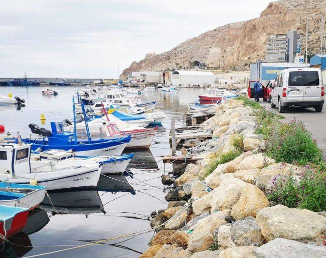 La CE visita Almería para ver los avances realizados por la flota en la aplicación del plan del Mediterráneo