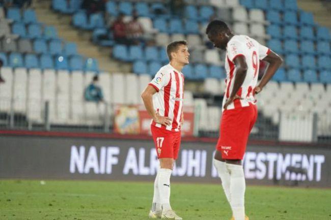 1-0: El Almería vuelve a caer en Ponferrada