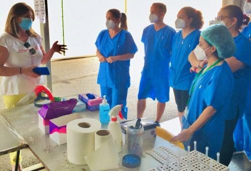 Distrito Poniente administra 378.000 dosis de vacunación Covid-19