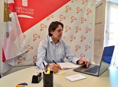 """Burgos: """"Ciudadanos da un nuevo impulso para sacar a los almerienses en ERTE"""""""