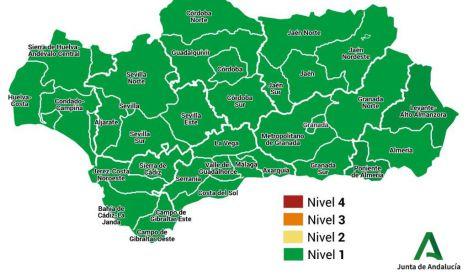 72 contagios y solo un hospitalizado más por covid-19 en Almería