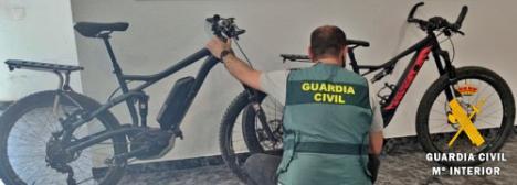 Cuatro investigados por robo de bicicletas en Almerimar