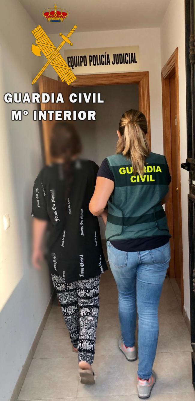 Detenida una vecina de El Ejido por el asalto con violencia a una vivienda en Almerímar