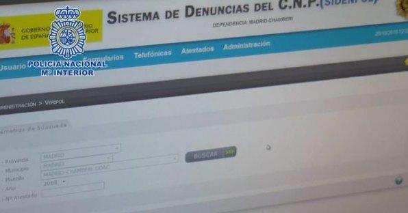 La app VeriPol ya detecta denuncias falsas