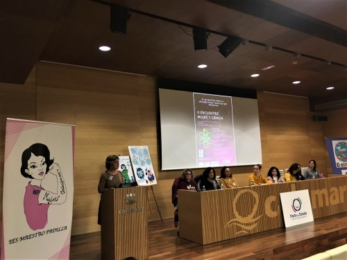 Paola Laynez resalta el papel de la mujer en la ciencia en el II Encuentro Mujer y Ciencia