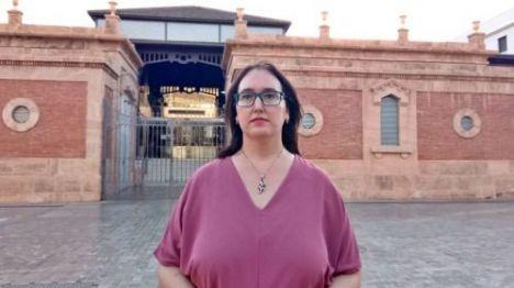 El PSOE denuncia el lamentable estado de la plazoleta de la calle Magistral Domínguez