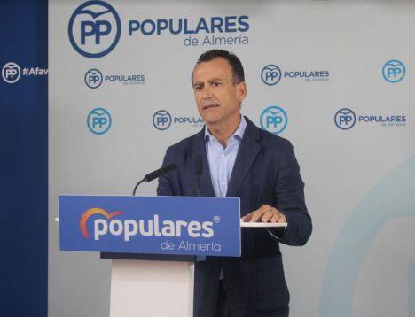 """Venzal: """"Juanma Moreno prometió bajar los impuestos a los almerienses y está cumpliendo"""""""