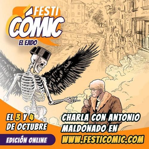 La VII edición del 'Festicómic El Ejido' presenta un Concurso de Cómic provincial