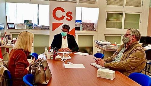 Cs apuesta por implicar al Consejo Social de Almería en el soterramiento