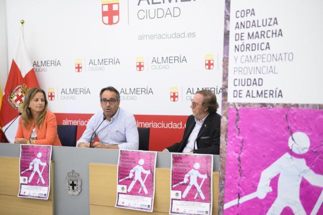El Parque del Andarax será sede de la Copa Andaluza de Marcha Nórdica
